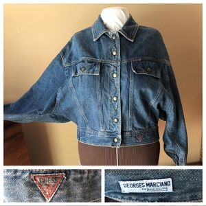 Georges Marciano Guess Vintage Denim Jean Jacket